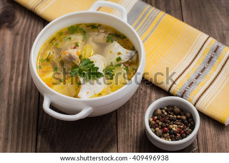 how to make fish soup stock