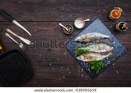 Striped bass stock images royalty free images vectors for Aromatic herb for fish