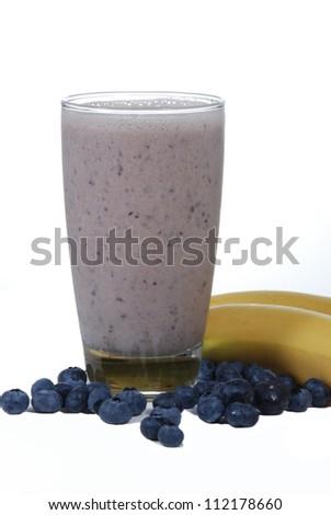 Fresh fruit smoothie - stock photo