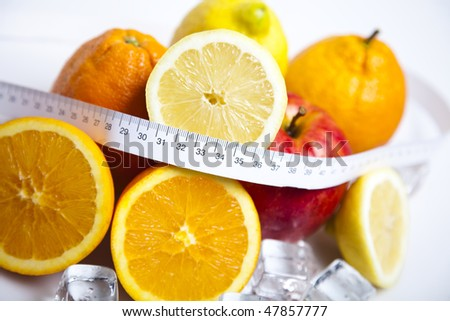 Fresh Fruits, and Diet control!