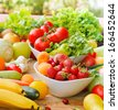 Fresh fruits and vegetables - stock