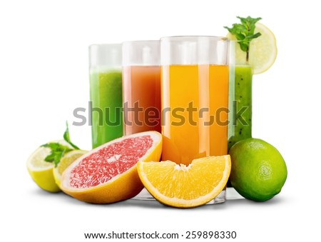 Fresh, green, drink. - stock photo