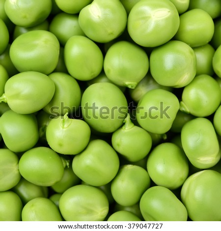 fresh green Peas background texture vegetable