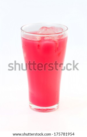 fresh ice cold soft drink - stock photo