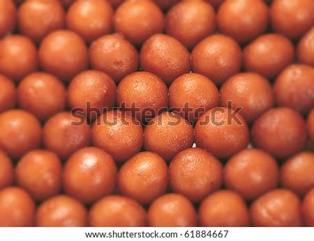 Fresh Jamuns - stock photo