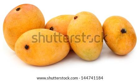 Fresh Mangoes - stock photo