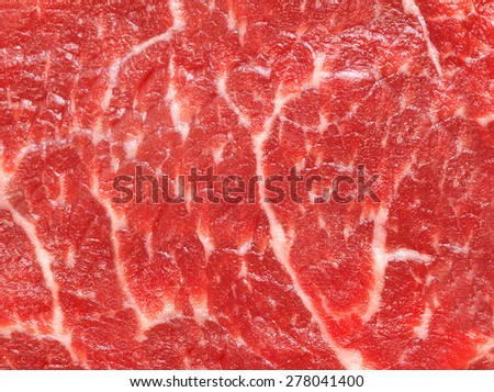 Fresh meat background - stock photo