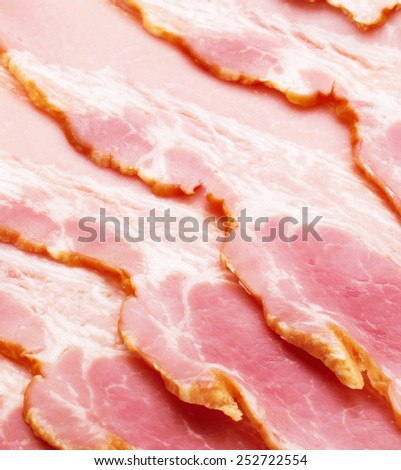 fresh meat slices texture or background