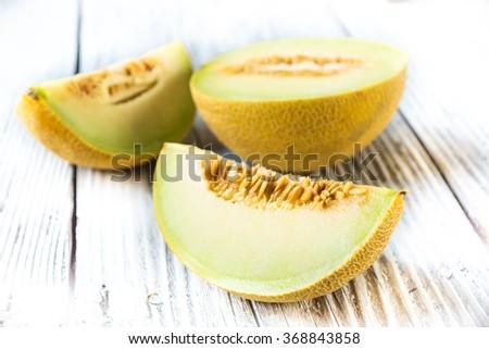 Fresh melon  - stock photo