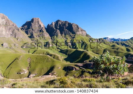 Fresh Mountain Air - stock photo