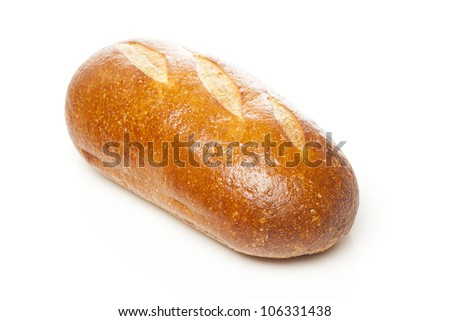 Fresh Organic Sourdough Bread on a background - stock photo