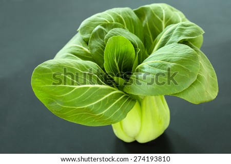 Fresh Pak Choi or Bok Choy - a type of Chinese cabbage