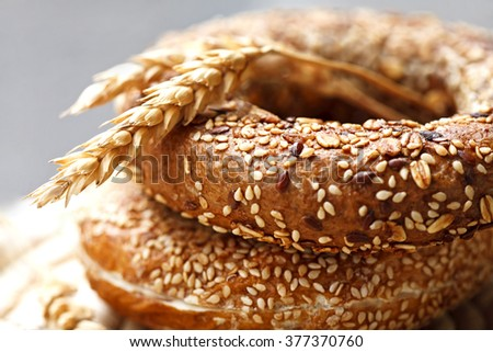 fresh pastry-Bakery Products-bread-bagel