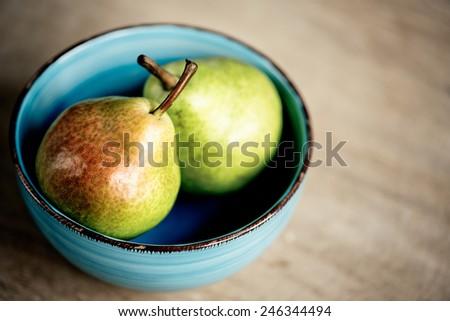 Fresh ripe Pears - stock photo