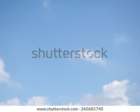Fresh Sky in the morning  - stock photo