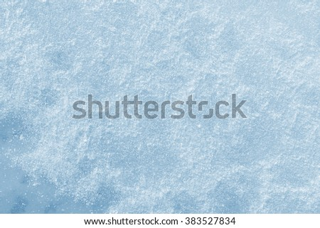 Fresh snow and ice background texture - stock photo