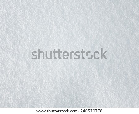 fresh snow texture - stock photo