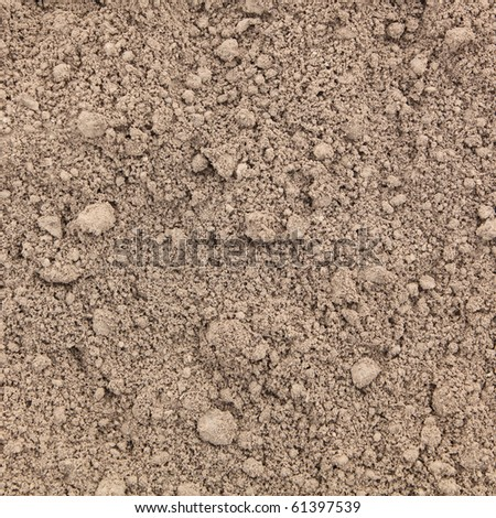 Fresh soil background closeup - stock photo