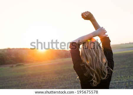 Fresh start of the day - stock photo