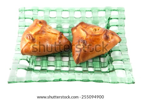 Fresh Sweet Homemade Cinnamon Rolls - stock photo