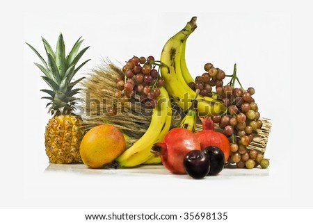Fresh  sweets fruit for dietary vitamin salad