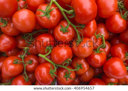 fresh tomatoes. red tomatoes background. Group of tomatoes