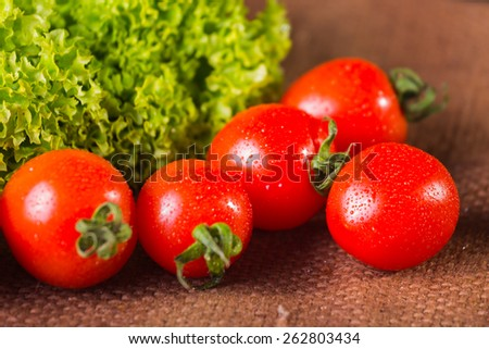 Fresh vegetables. Still vegetables. Green vegetables. Healthy food - stock photo