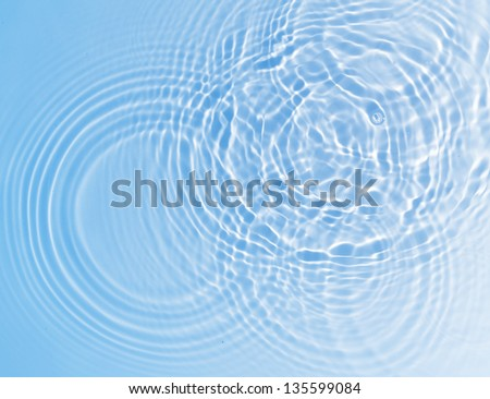 fresh water background - stock photo