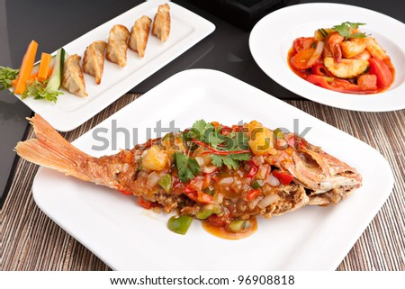 ... sour fish recipe food to love thai style sweet and sour steamed fish