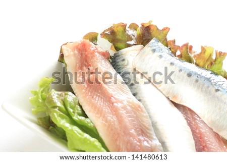 freshness prepared Sardine blue fish from Japan for reducing the occurrence of cardiovascular disease ingredient image