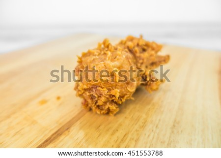 Fried chicken - stock photo