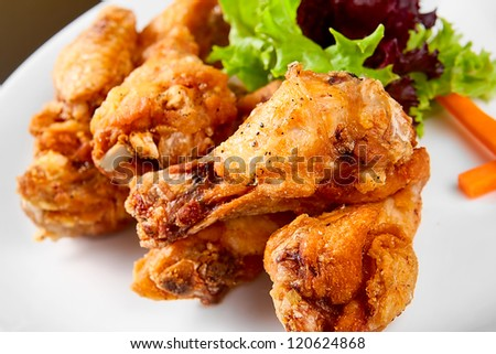 Fried chicken legs