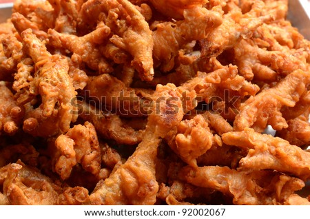 Stock Images similar to ID 79584946 - chicken feet on a plate with...