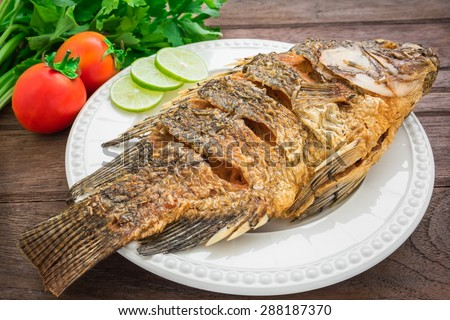 Fried fish stock photos images pictures shutterstock for Cliffords fish fry