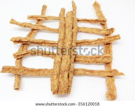 Fried pork - Dry pork sticks