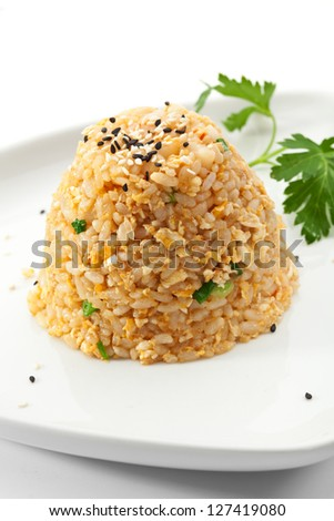 Fried Rice with Eggs