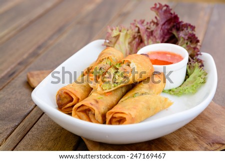 Fried spring roll