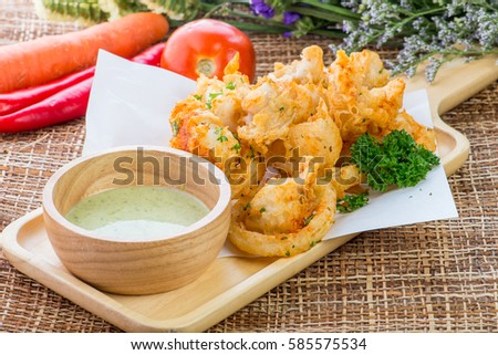 Spicy squid stock images royalty free images vectors for Giant chilli thai