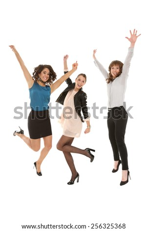 friends having fun together - stock photo