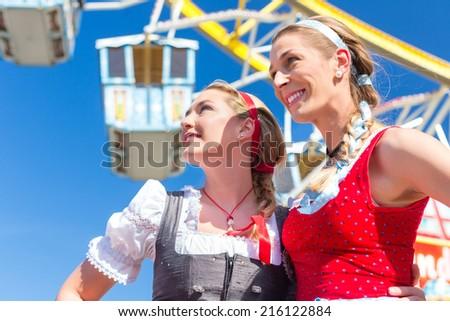 Ferris Wheel Costume in Front of Ferris Wheel