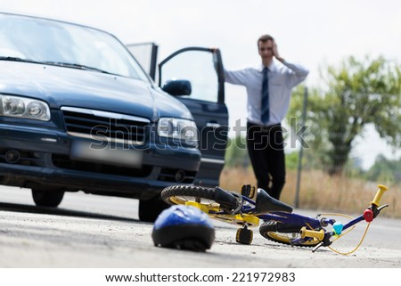 how to get into pedestrian accident