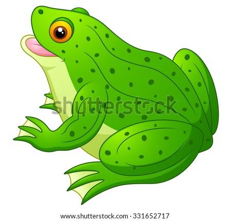 simple cute frog drawing