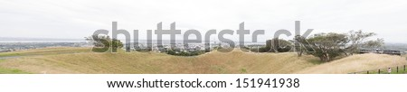 from auckland mount eden - stock photo