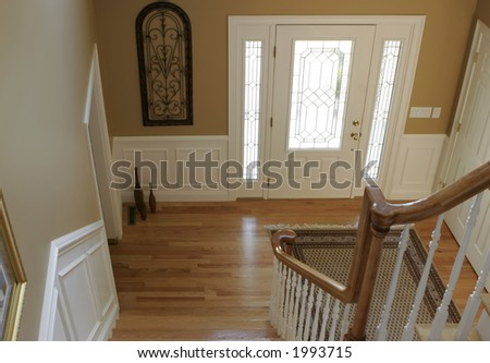front foyer - stock photo