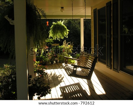 front porch swing - Front Porch Swing