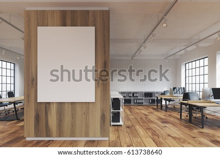 pictures of an office. front view of an office with a poster hanging on wooden wall rows pictures e