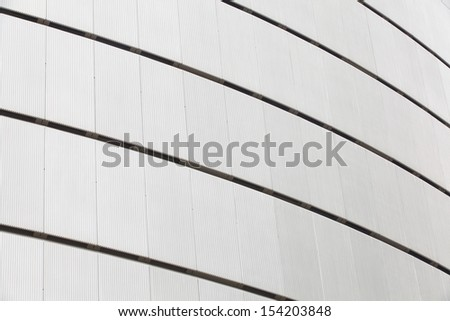 Front view of office building wall texture - stock photo
