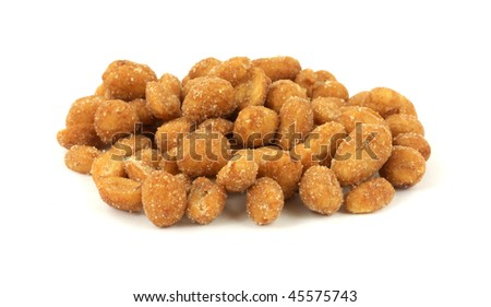 Front View Roasted Peanuts