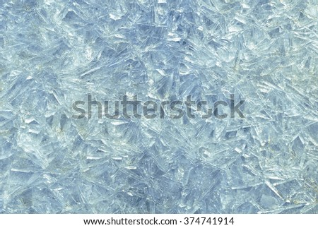 Frost ice background