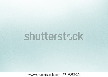 Frosted glass texture background Soft tone Cyan color - stock photo